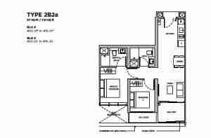 Dairy-Farm-Residences-Singapore-floor-plan-2br