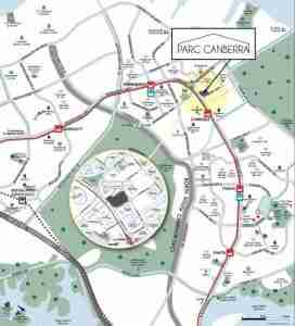 Parc-Canberra-EC-singapore-location-map