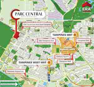 Parc-Centra- Residences-Location