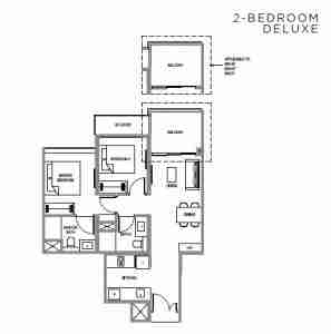 verdale-singapore-floor-plan-2-bedroom